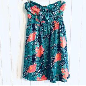 NWOT ModCloth Fit & Flare Floral Halter Dress